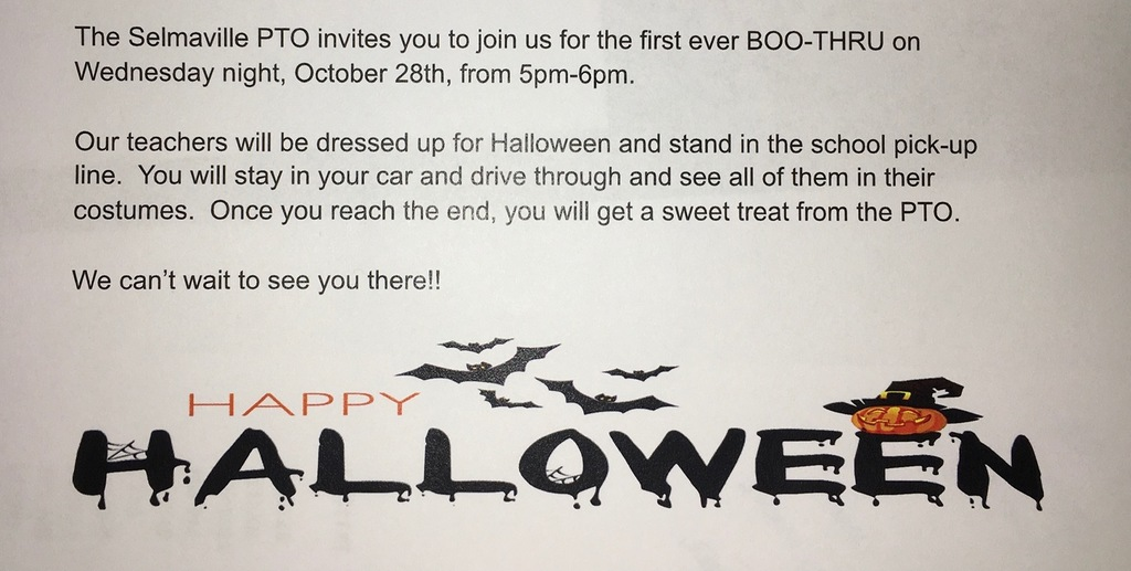 Boo Thru event